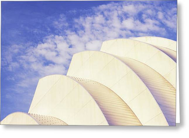 Arts Culture And Entertainment Greeting Cards - Low Angle View Of An Entertainment Greeting Card by Panoramic Images