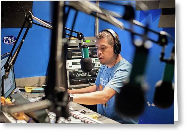 Low Power Community Radio Greeting Card by Jim West