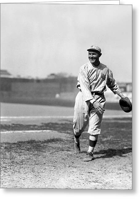 Brooklyn Dodgers Stadium Greeting Cards - Lowell O. Otto Miller Greeting Card by Retro Images Archive