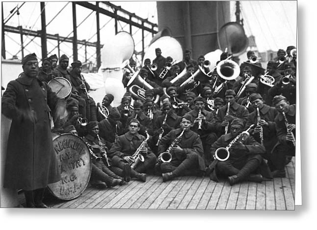 Lt. James Reese Europe's Band Greeting Card by Underwood Archives