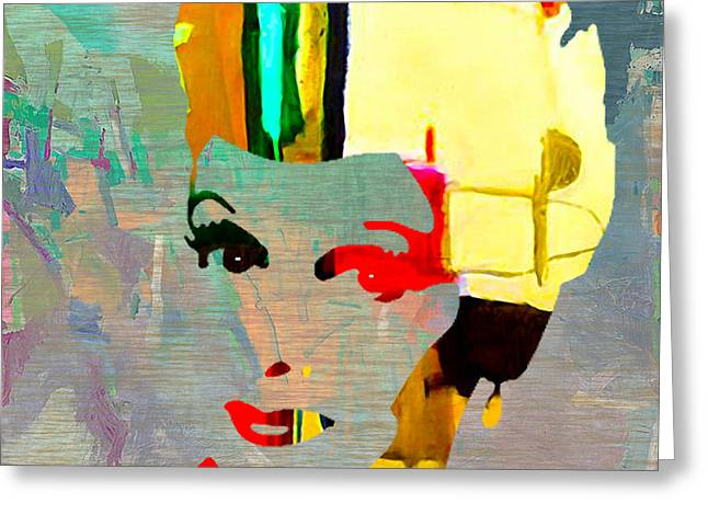 Lucille Greeting Cards - Lucille Ball Greeting Card by Marvin Blaine