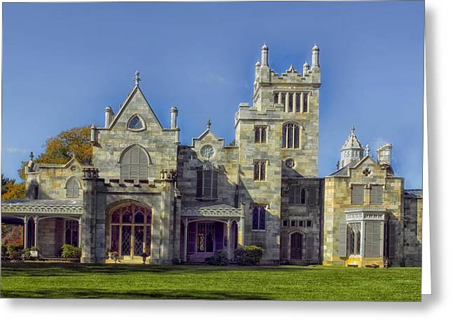 Famous Estates Greeting Cards - Lyndhurst Estate - Tarrytown New York Greeting Card by Mountain Dreams