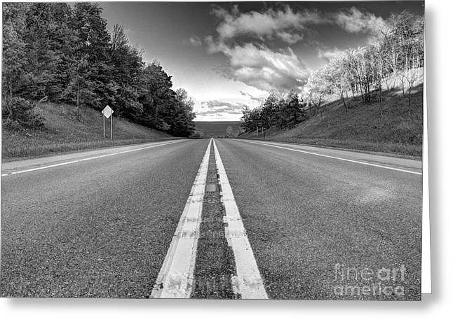M-22 At The Arcadia Overlook Greeting Card by Twenty Two North Photography