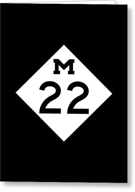 Galaxy Case Greeting Cards - M 22 Greeting Card by Sebastian Musial