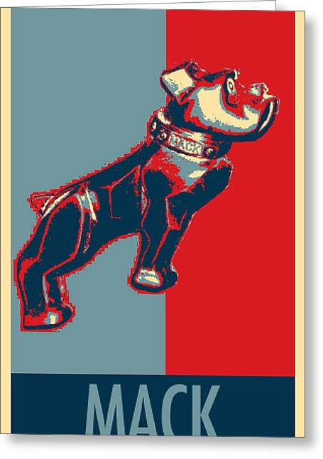Shepard Fairey Greeting Cards - Mack In Hope Greeting Card by Rob Hans