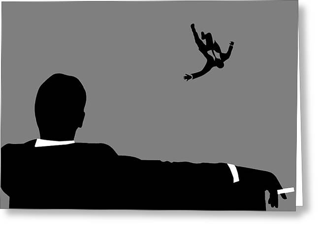 Francis Digital Greeting Cards - Mad Men Greeting Card by Dan Sproul
