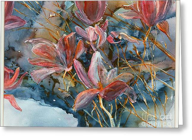 Best Sellers -  - Daughter Gift Greeting Cards - Magnolias Greeting Card by Sherry Harradence
