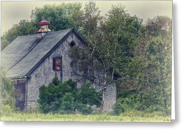 Maine Countryside Greeting Card by Richard Bean