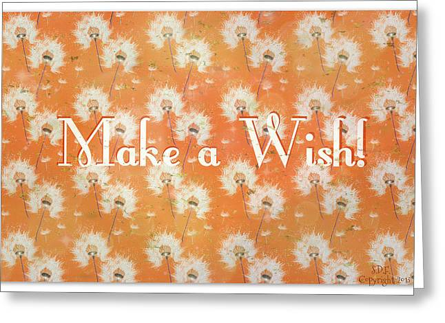 Goals In Life Greeting Cards - Make A Wish Greeting Card by Sherry Flaker