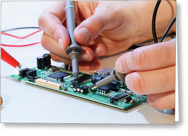 Making An Electronic Micro Processor Greeting Card by Wladimir Bulgar