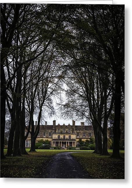 Manor Greeting Cards - Manor Greeting Card by Joana Kruse