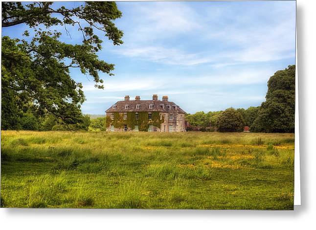 Historic England Greeting Cards - Mansion Greeting Card by Joana Kruse