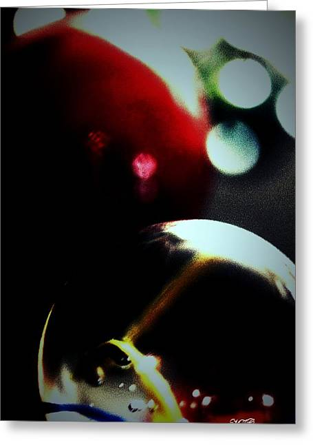 Cats Eye Marbles Greeting Cards - Marbles73 Greeting Card by Michael James Greene