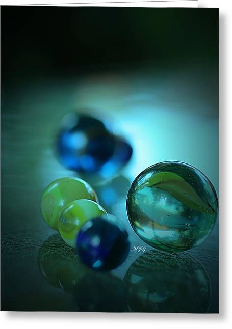 Marble Eye Greeting Cards - Marbles98 Greeting Card by Michael James Greene