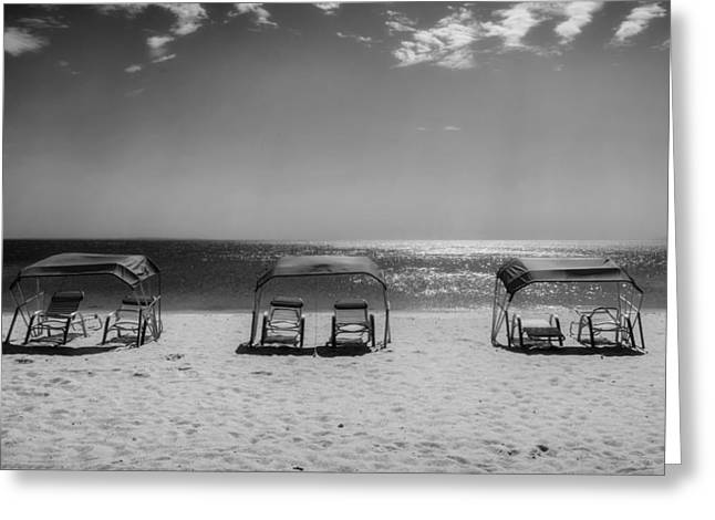 Chaise-lounge Photographs Greeting Cards - Margarita Island Scenics Greeting Card by Mountain Dreams