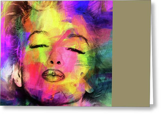 Marilyn Monroe Greeting Card by Mark Ashkenazi