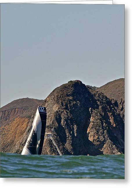 Tv Commercial Greeting Cards - Marin Headlands Greeting Card by Steven Lapkin