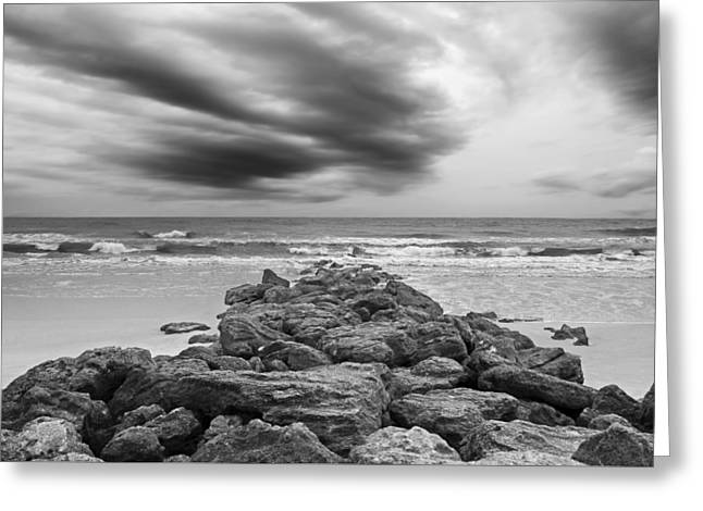 St. Augustine Greeting Cards - Marineland Beaches  Greeting Card by Steven  Michael