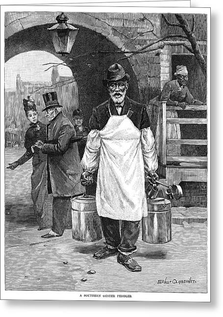 Maryland Oysters, 1889 Greeting Card by Granger