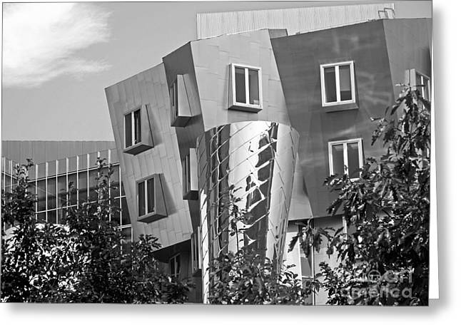 Institute Greeting Cards - Massachusetts Institute of Technology Stata Center Greeting Card by University Icons