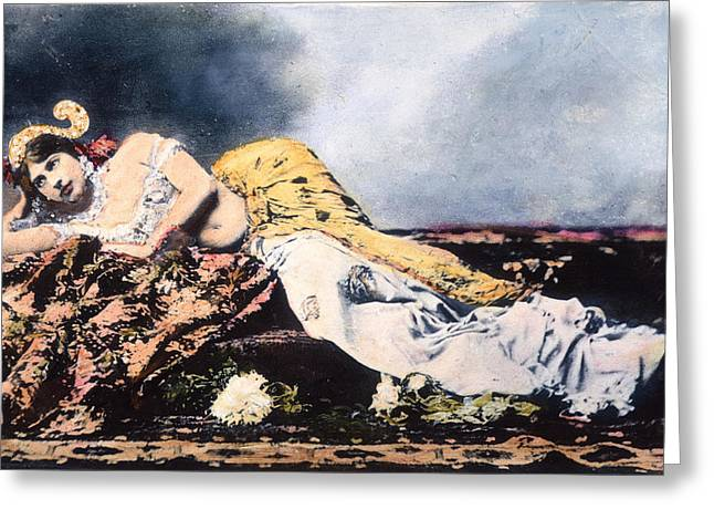 Mata Hari (1876-1917) Greeting Card by Granger