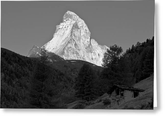 Valais Canton Greeting Cards - Matterhorn Greeting Card by Brian Kamprath