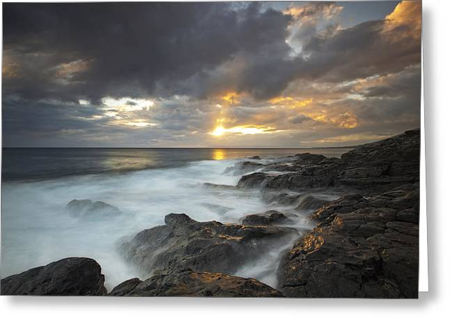 ; Maui Greeting Cards - Maui Seascape Greeting Card by James Roemmling