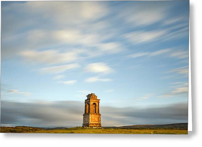 Sunset Framed Prints Greeting Cards - Mausoleum Greeting Card by Pawel Klarecki