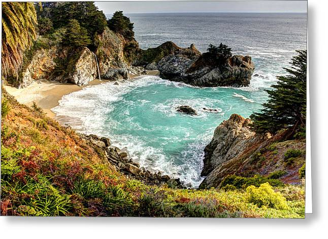 Pch Greeting Cards - McVay Falls 2 Greeting Card by Dan McCool