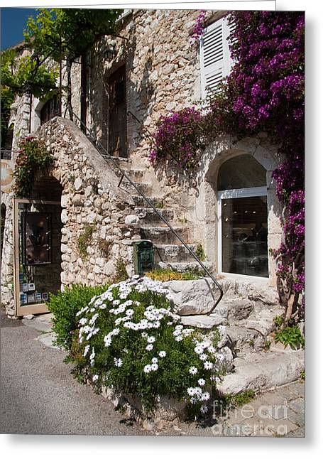 Medieval Saint Paul De Vence 3 Greeting Card by David Smith