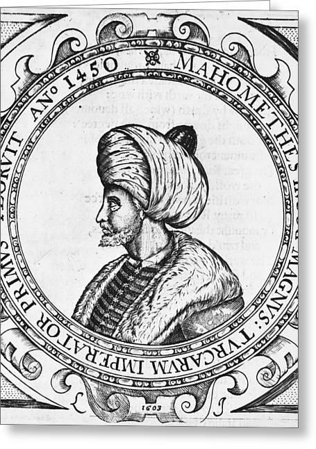 Mehmed II (1432-1481) Greeting Card by Granger