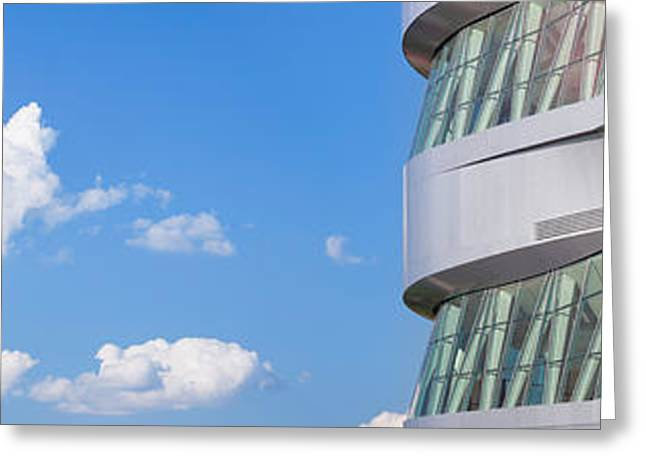 Stuttgart Greeting Cards - Mercedes-benz Museum, Stuttgart Greeting Card by Panoramic Images
