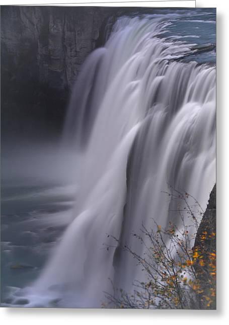 Raymond Salani Iii Greeting Cards - Mesa Falls Greeting Card by Raymond Salani III