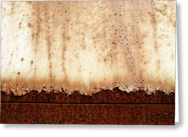 Metallic Sheets Greeting Cards - Metal texture  Greeting Card by TouTouke A Y