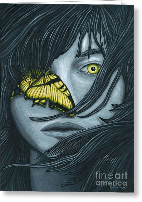 Metamorphasis Greeting Cards - Metamorphia Greeting Card by Gareth Andrew