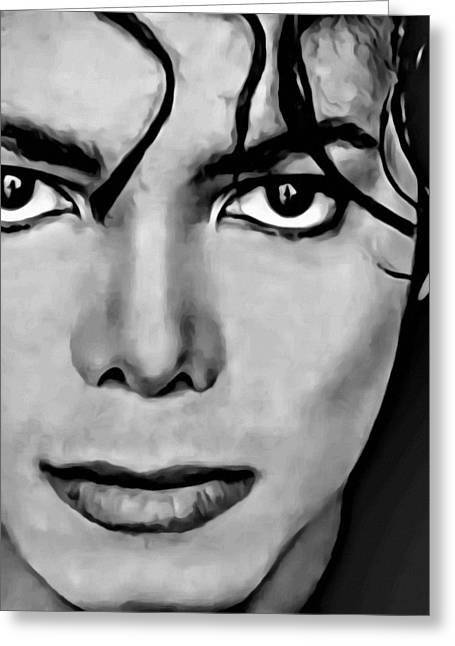 Michael Greeting Card by Florian Rodarte