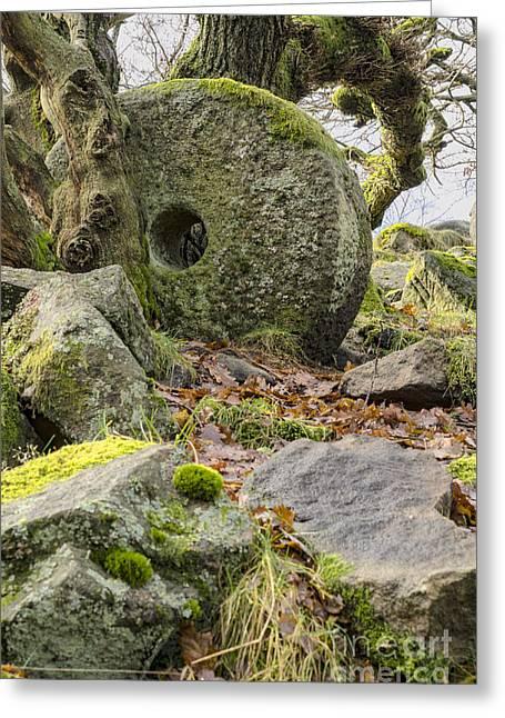 Mill Stones Greeting Card by Steev Stamford