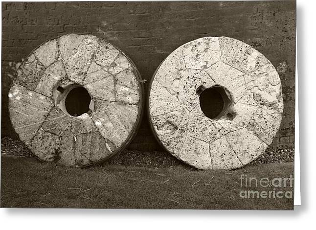 Millstone Greeting Cards - Millstones Greeting Card by Victor de Schwanberg