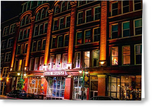 Hdr Landscape Greeting Cards - Milwaukee Ale House Greeting Card by Andrew Slater