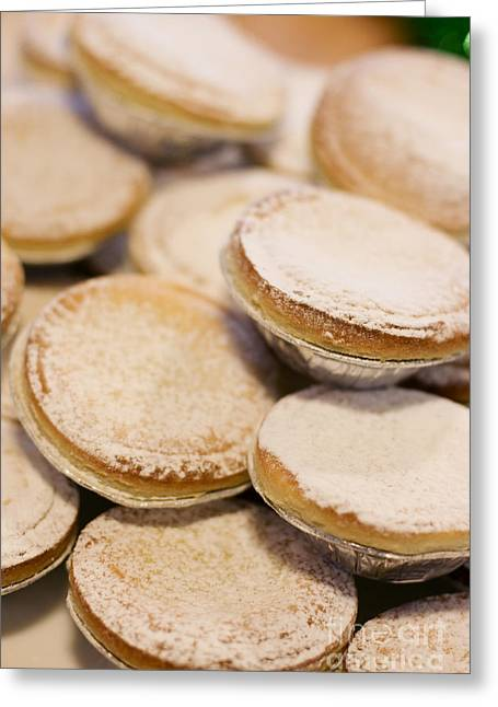 Festivities Greeting Cards - Mince Pies Greeting Card by Ryan Jorgensen