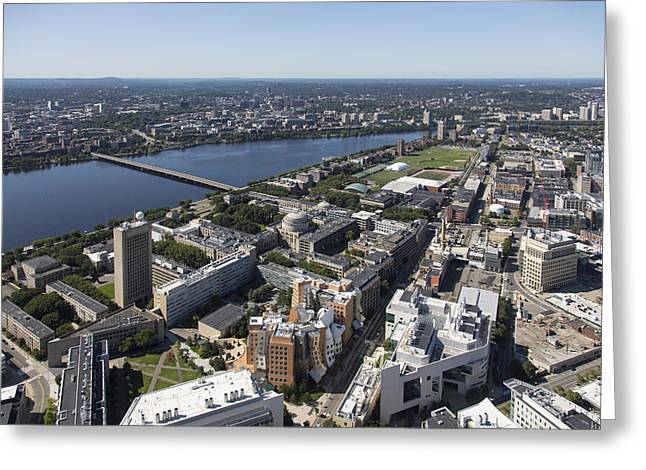 College Buildings Images Greeting Cards - Mit - Massachusetts Institute Greeting Card by Dave Cleaveland