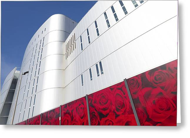Power Plants Greeting Cards - Modern Architecture In Rotterdam Greeting Card by Hans Engbers