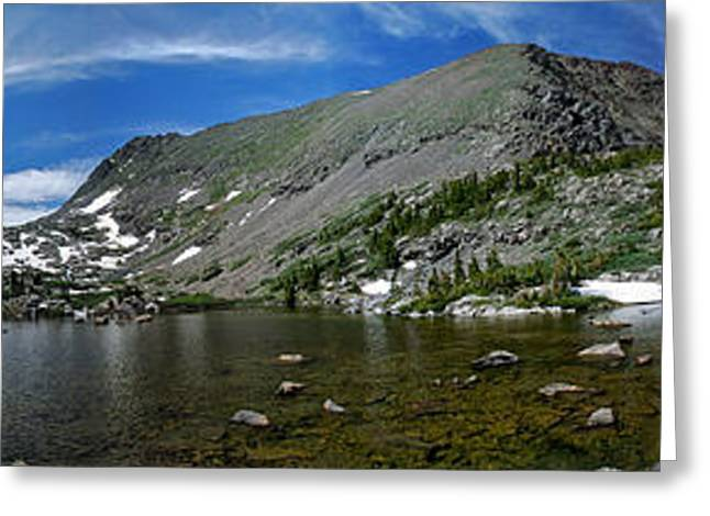 Lonesomeness Greeting Cards - Mohawk Lakes Greeting Card by Gene Tewksbury