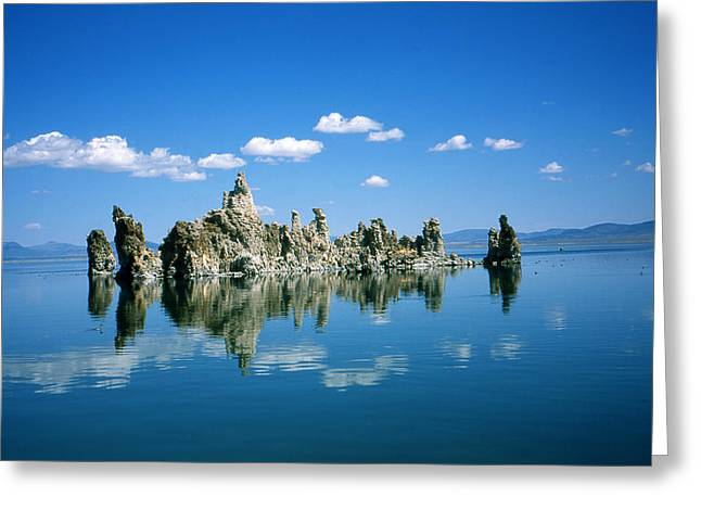 Landscape Framed Prints Greeting Cards - Mono Lake California - Landscape Photo Greeting Card by Peter Fine Art Gallery  - Paintings Photos Digital Art