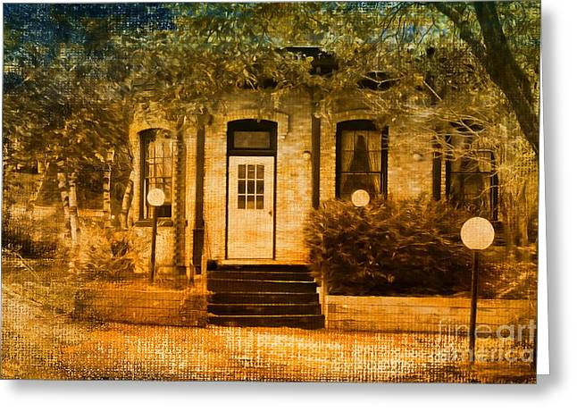 Montpelier Place Greeting Card by Deborah Benoit