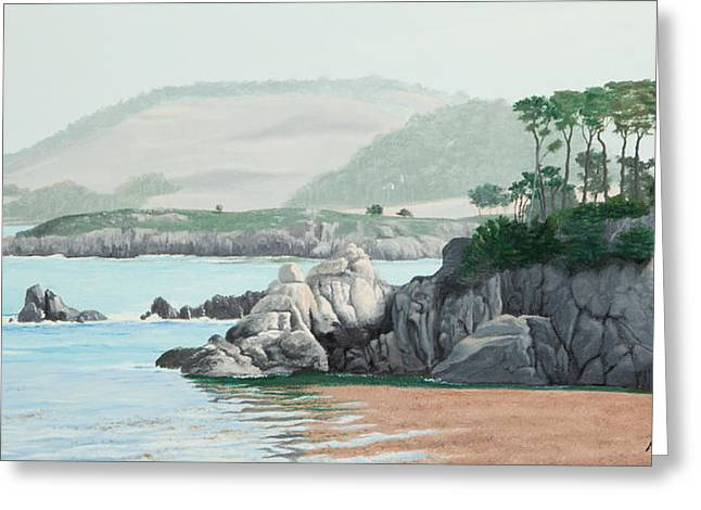 Point Lobos Greeting Cards - Morning At Point Lobos Greeting Card by Michael Putnam