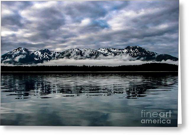 Tongass Greeting Cards - Morning Reflections Greeting Card by Robert Bales
