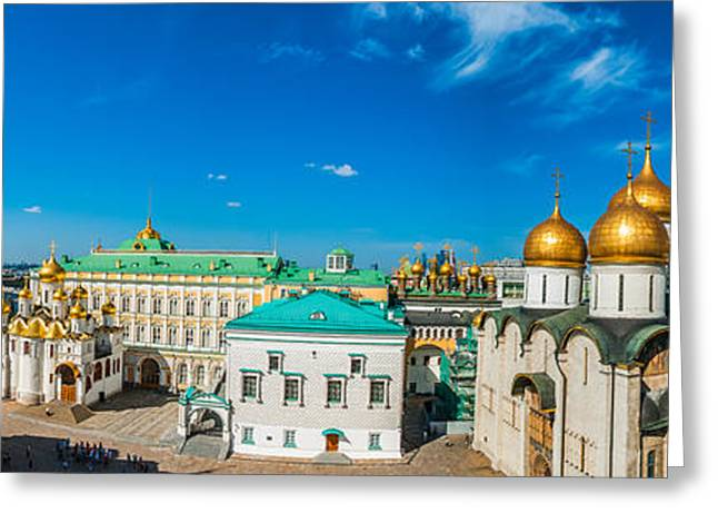 Archangel Greeting Cards - Moscow Kremlin Tour - 36 of 70 Greeting Card by Alexander Senin