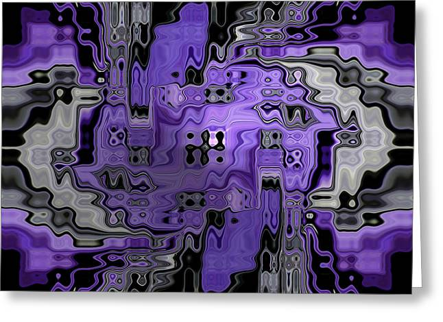 Reflective Greeting Cards - Motility Series 24 Greeting Card by J D Owen