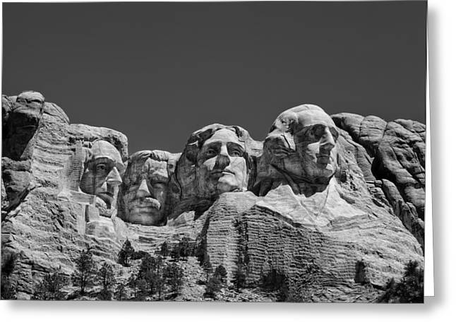 Mountainside Art Greeting Cards - Mount Rushmore Greeting Card by Mountain Dreams